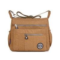 New Women Messenger Bags For Women Waterproof Nylon Handbag Female Shoulder Bag Ladies Crossbody Bags Bolsa