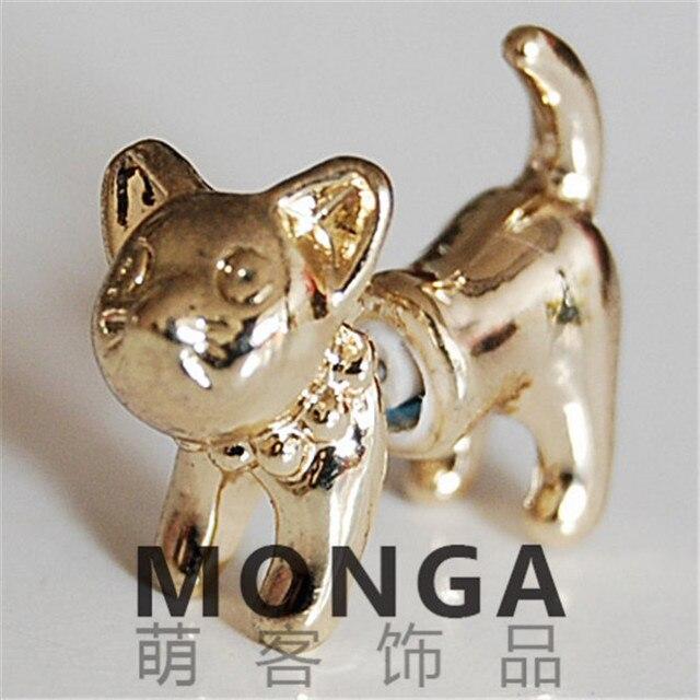 Сережки в форме кошек в ассортименте 4