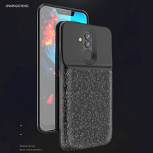 JINXINGCHENG Charger Case for Huawei Mate 20 Lite 5200 Mah Back Clip 18650 Battery Power Cover Accessories Blue Black Colors