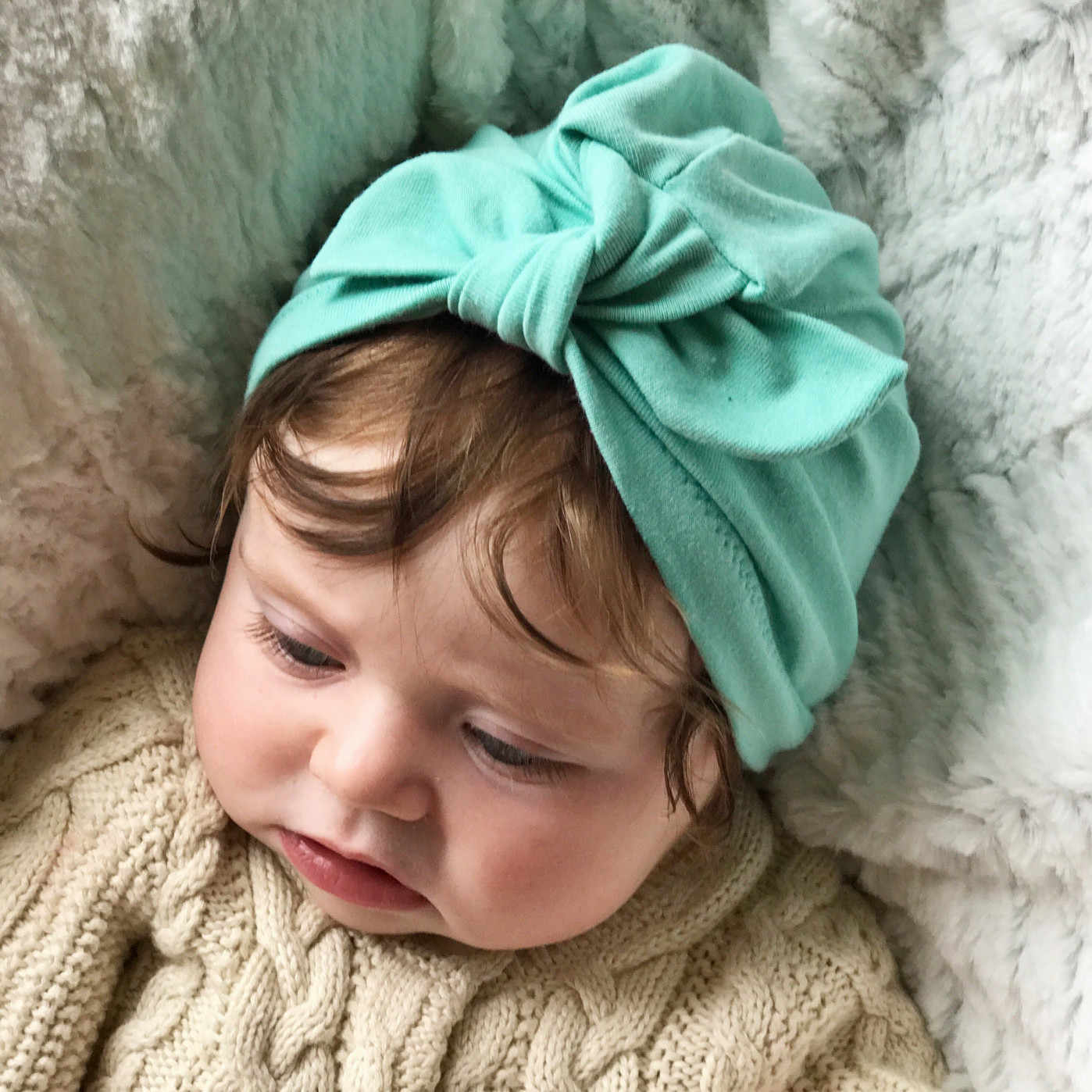 Bébé accessoires cheveux chapeaux bébé Turban chapeau enfants nouveau-né Beanie enfants bébé petite fille bébé bandeau fille diadème