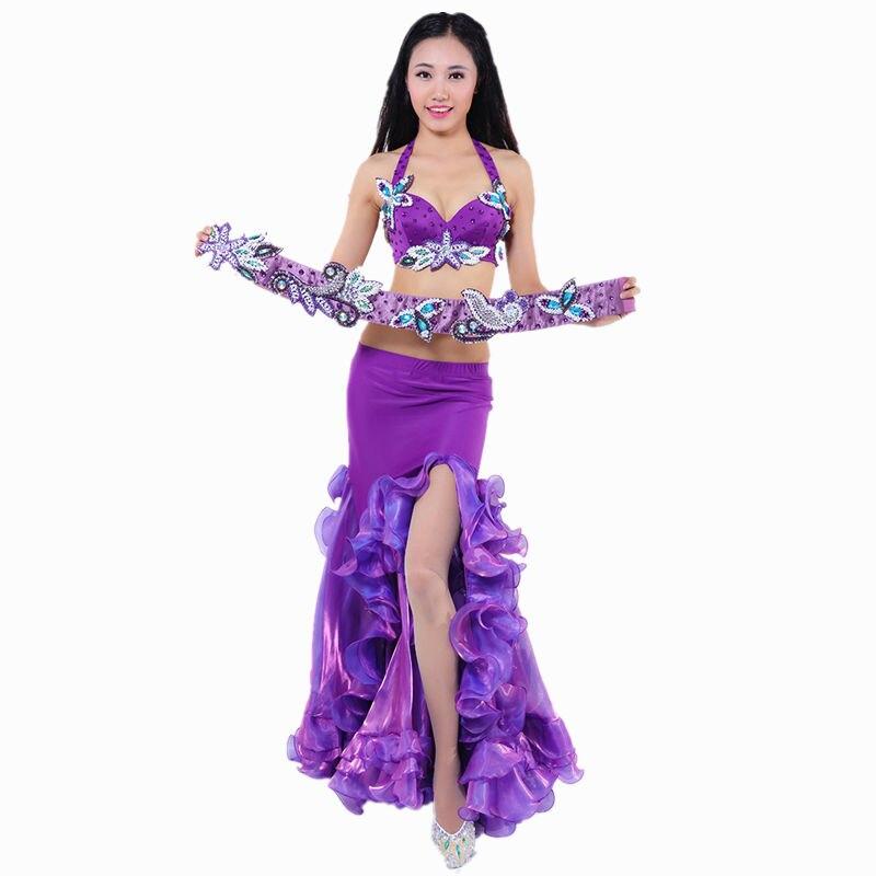 2018 rendimiento Danza del vientre trajes de Egipto oriental Dace ...