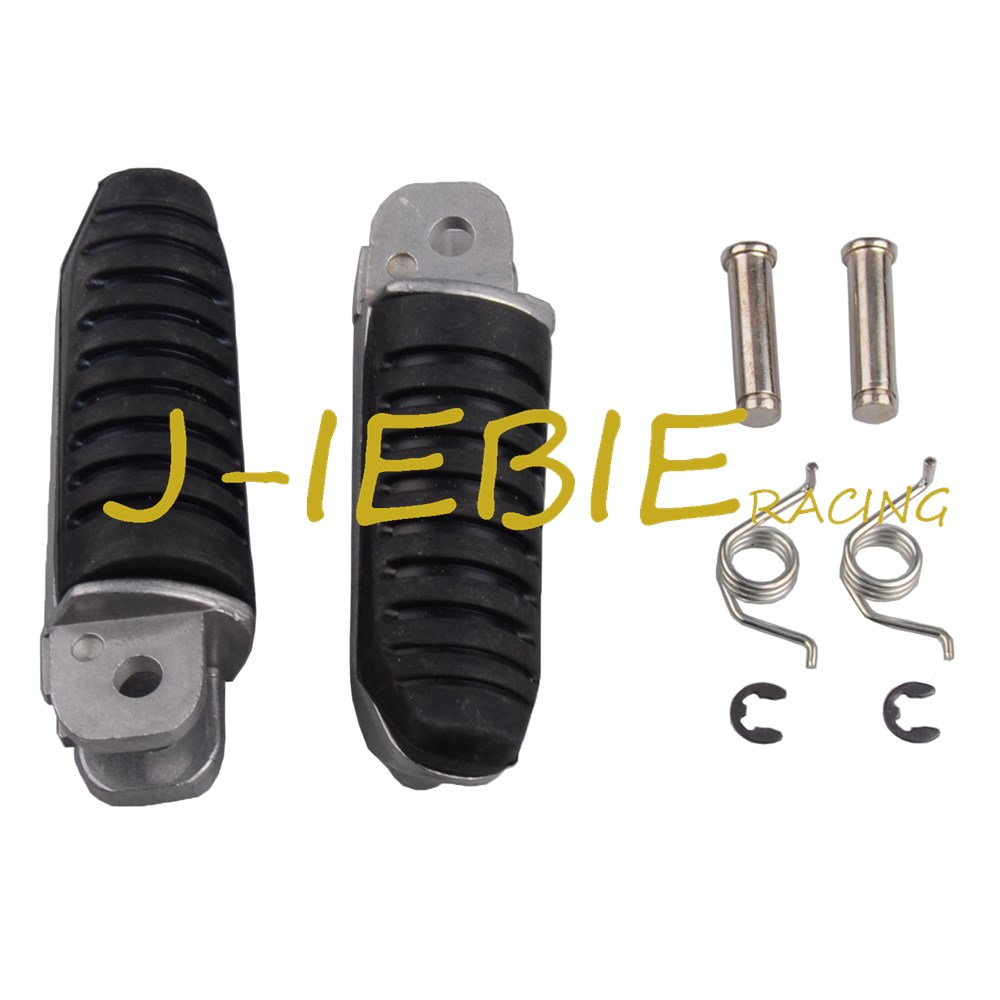 Front Footrest Foot Pegs For Suzuki GSF400 GK75A BANDIT GSF 400 600 1200 GSF1200 GSF600