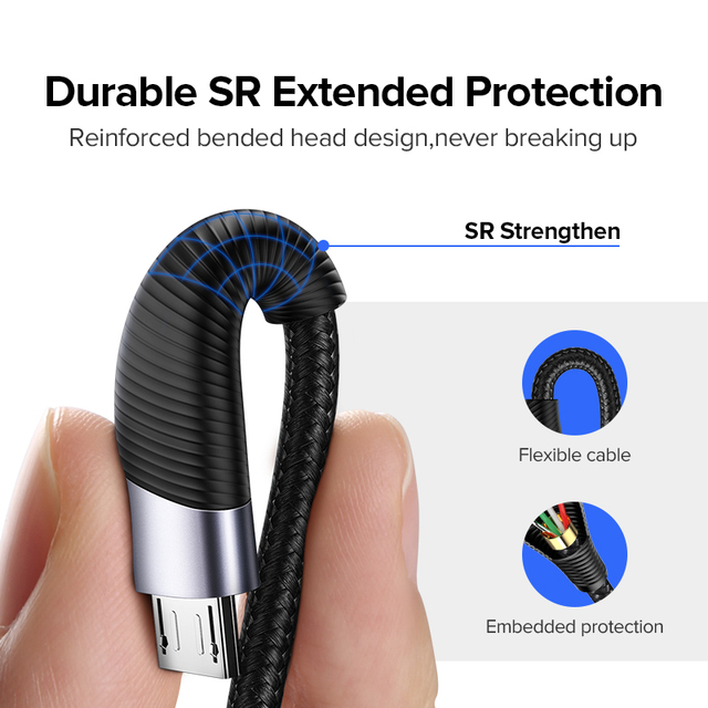 Universal Fast Charging Micro USB Cable