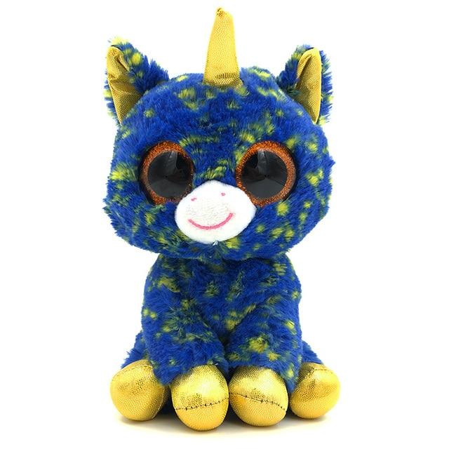 Big eyes Dolls Soft Lovely Toy beanie boo Unicone Ty Beanie Boos 25CM  Stuffed Plush Stuffed Doll Ty Toys For Girl Gift Children 2341d8461709