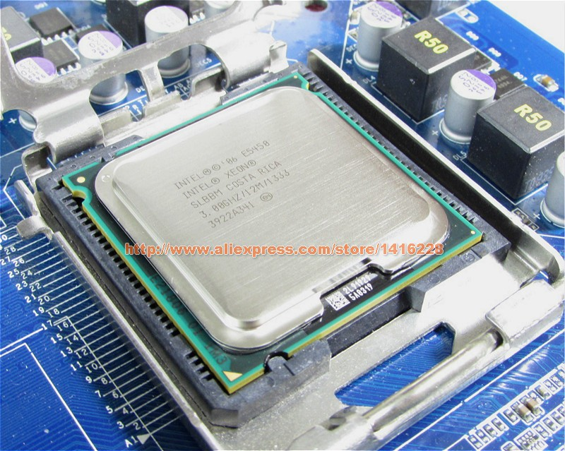 Xeon E5450 Processor 3.0GHz 12M 1333Mhz equal to intel Q9650 works on lga 775 mainboard no need adapter