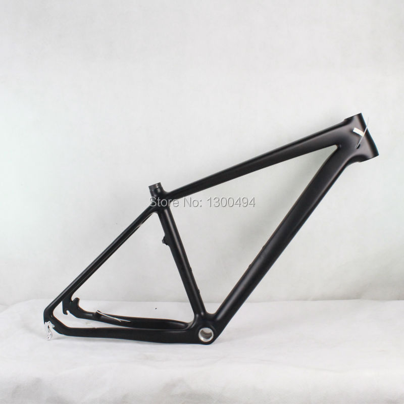 Carbon Frames For 26er Mountain Bike  KQ-MB501 Size17 inch black Cheap Price Factory Outlets mtb 26er carbon frame mountain bike frame kq mb921 size17 5inch 3k glossy matte finish factory outlets