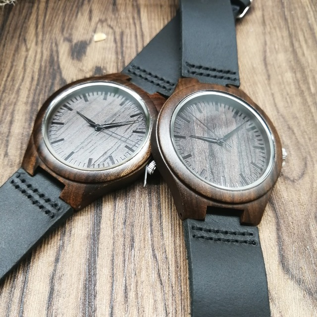 TO MY BOYFRIEND I WILL FOREVER AND ALWAYS BE YOURS AND ONLY YOURS ENGRAVED WOODEN WATCH 4