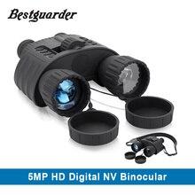 4×50 Digital Hunting Night Vision Binocular 300m Range Infared Day and Night Telescope Waterproof Night Vision Goggles Sights