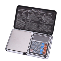 500g x 0.01g Electronic Scales 0.01g Digital Scale LCD Precision Balance Weighing Scale Price Calculation Time Temperature