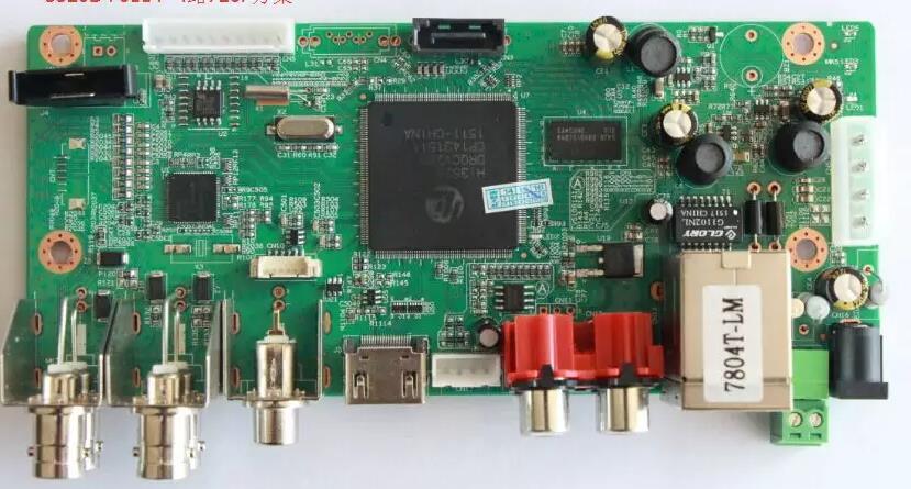 HI3521A HI3520DV300 Development Board DVR 3520D Development Board NVR NVP6134C 1080P