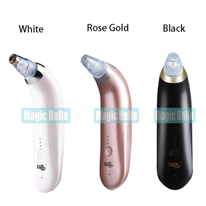 Portable Diamond Microdermabrasion Beauty Machine 4 Tips Diamond Microdermabrasion Machine For Skin Peeling Blackhead Suction