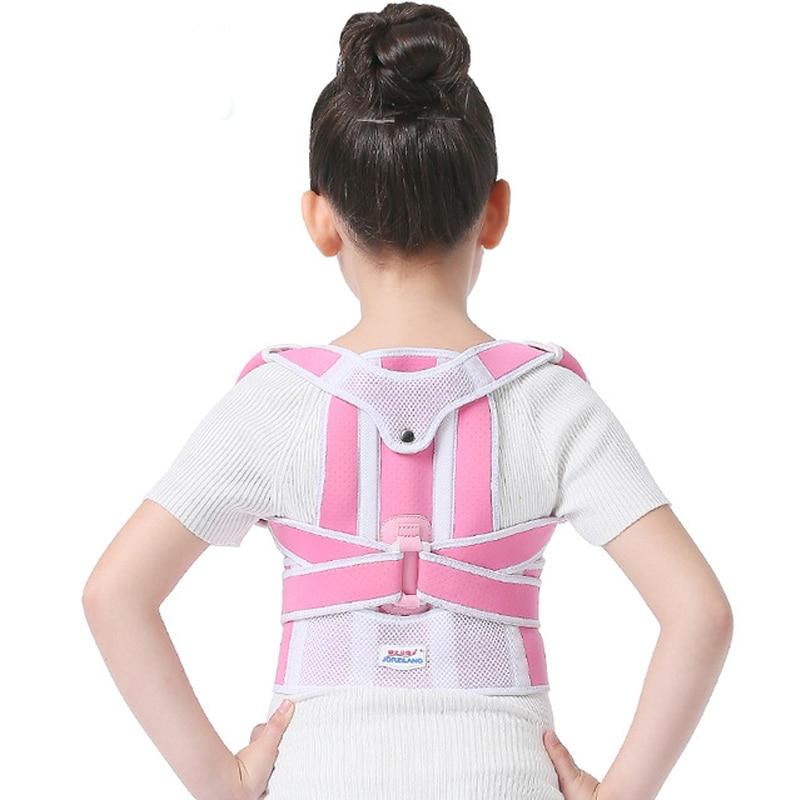 Image 5 - Children Kid Health Adjustable Magnetic Posture Corrector Back pain shoulder Support orthopedic corset Spine Support brace belt-in Braces & Supports from Beauty & Health