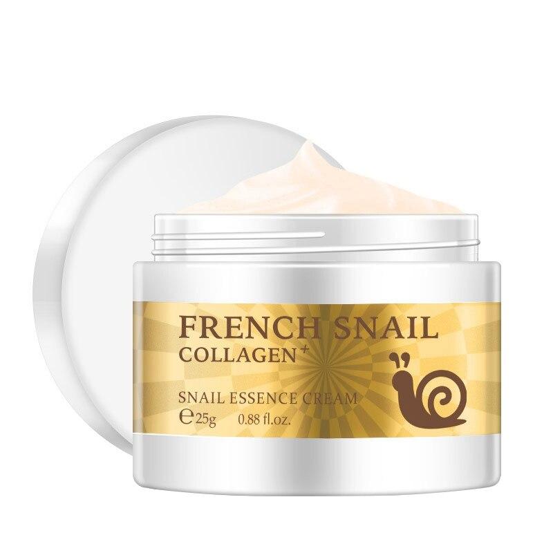 Skin Care Cream: 25g Snail Face Cream Hyaluronic Acid Moisturizing Anti