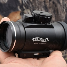 Hunting shooting waltherTop Point 1x40 Green red Dot sight scope picatinny rail
