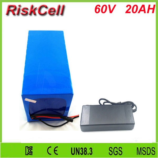 Free Customs taxes and shipping 60v 20ah high power rechargeable 26650 battery pack 60 volt lithium battery for solar system free customs taxes factory 36 volt battery pack with charger and 15a bms for 36v 10ah lithium battery