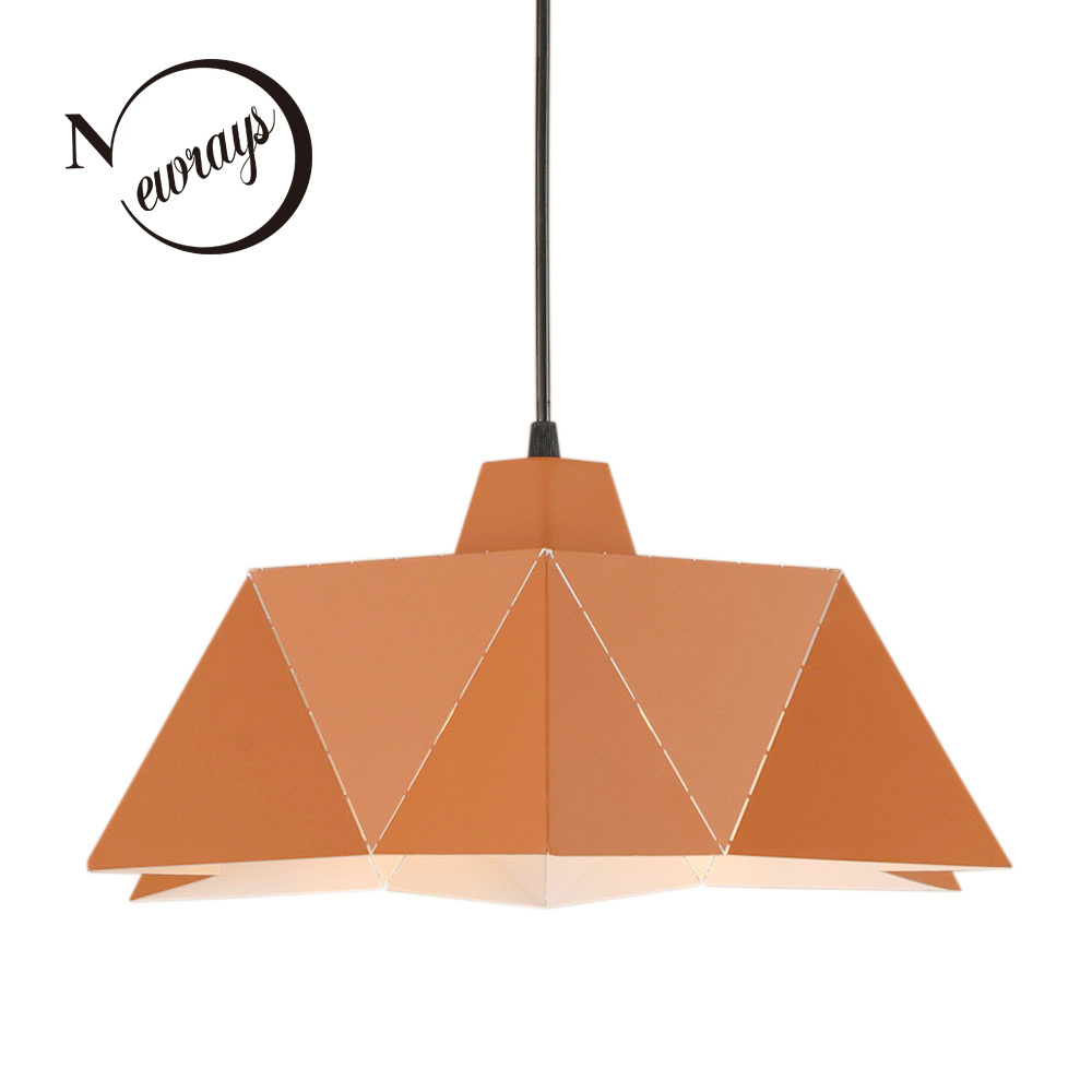Modern simple iron pendant light LED E27 with 2 colors Nordic loft hanging lamp for living room restaurant dining room hotel bar novelty spherical iorn hanging lamp led e27 loft modern pendant light fixture for living room hotel restaurant bedroom study bar