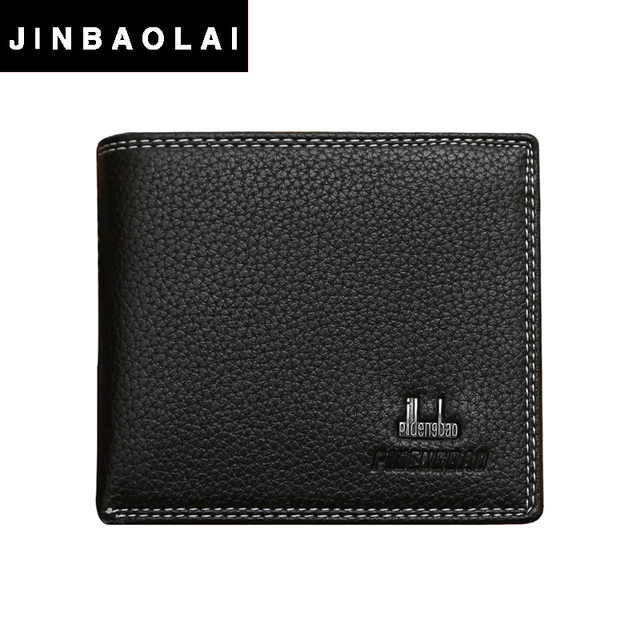 Wholesale price high quality business men's wallets simple style purse with card holders money bag for male portefeuille homme