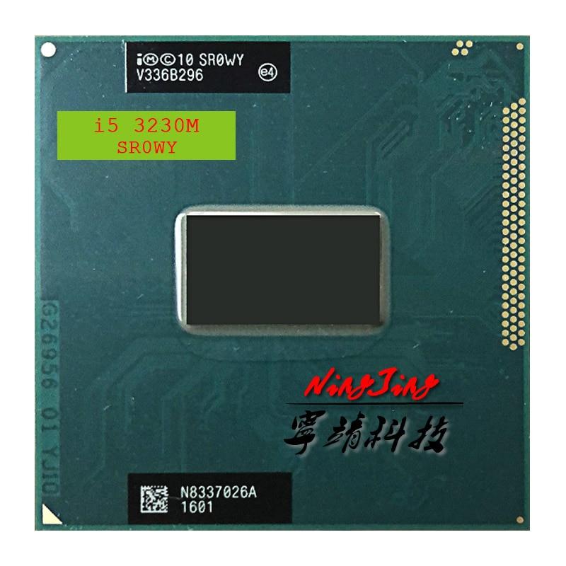 Процессор Intel Core i5-3230M i5 3230M SR0WY 2,6 ГГц двухъядерный четырехъядерный процессор 3M 35W Socket G2/rPGA988B