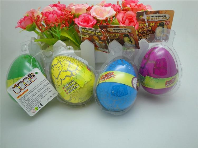 5 UNIDS / LOTE Bebés Divertidos Grandes Huevos de Dinosaurios de Los - Nuevos juguetes y juegos - foto 3