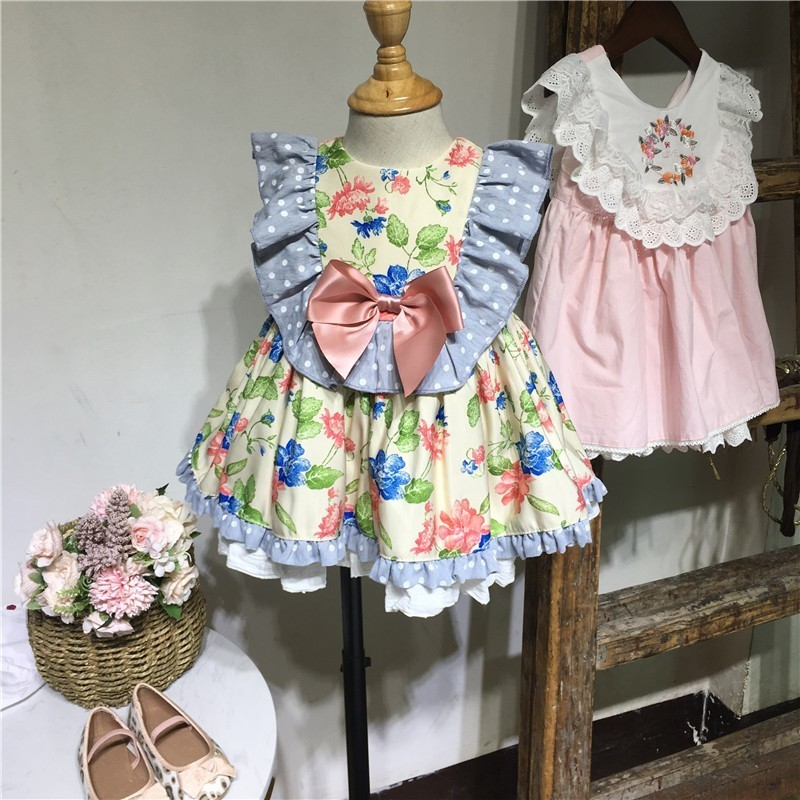 baby frocks infant floral dress for girls summer clothing 1 year old baby girl party dress