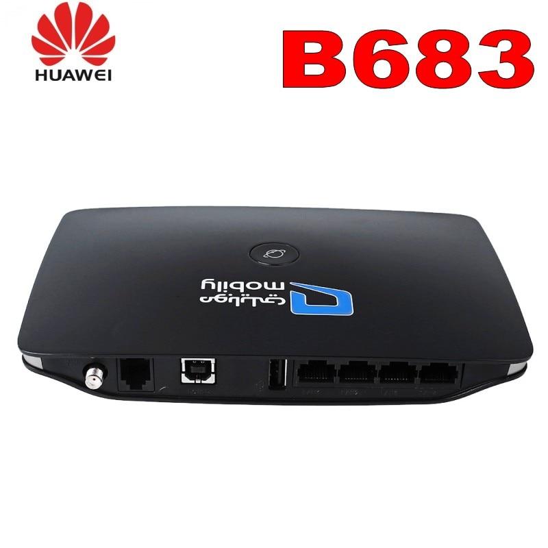 Huawei B683 3G WIFI mobilni Hotspot 28Mbps brezžični usmerjevalnik tovarne odkleniti (24V)  t
