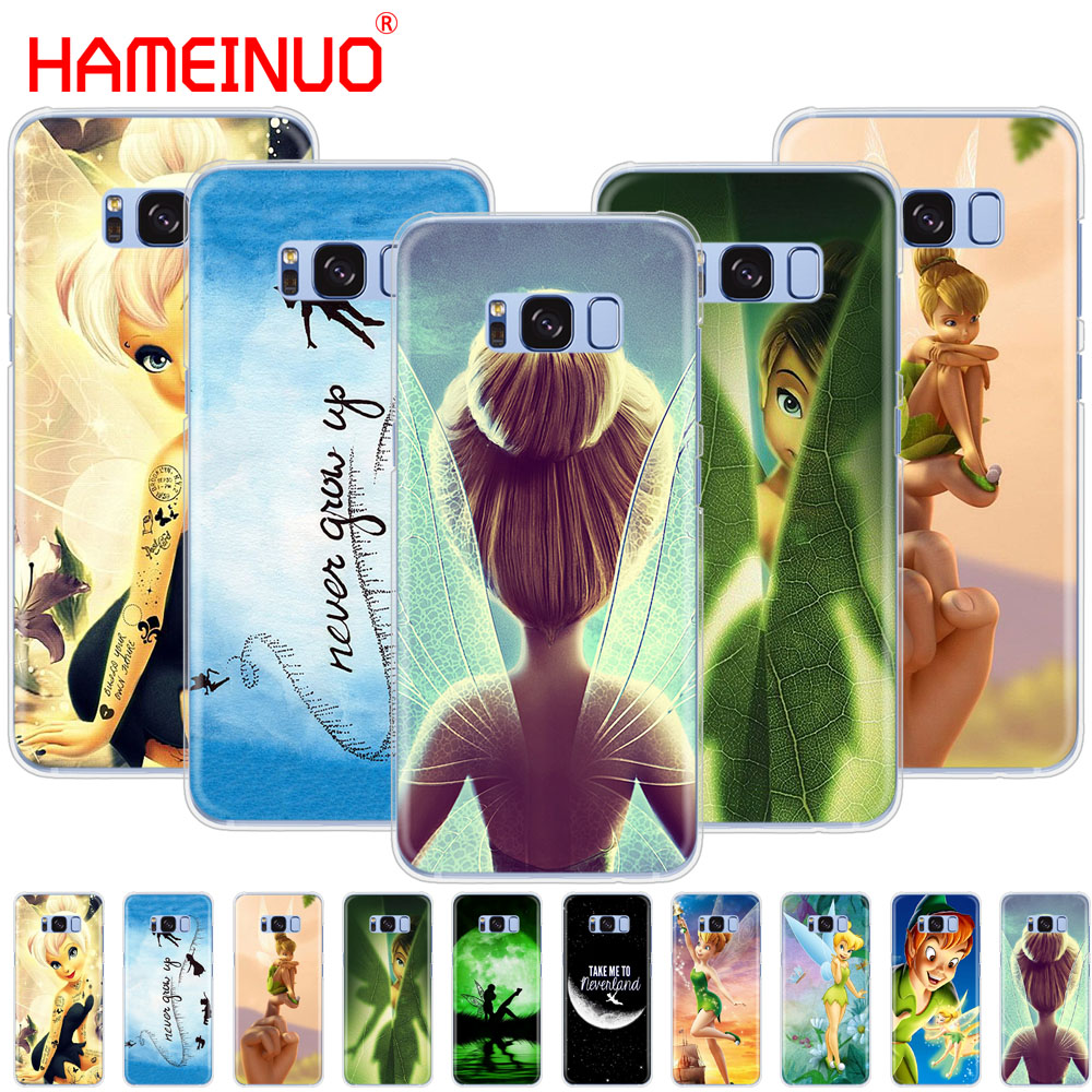 HAMEINUO Peter Pan Wendy Tinkerbell Tinker bell cell phone case cover for Samsung Galaxy ...
