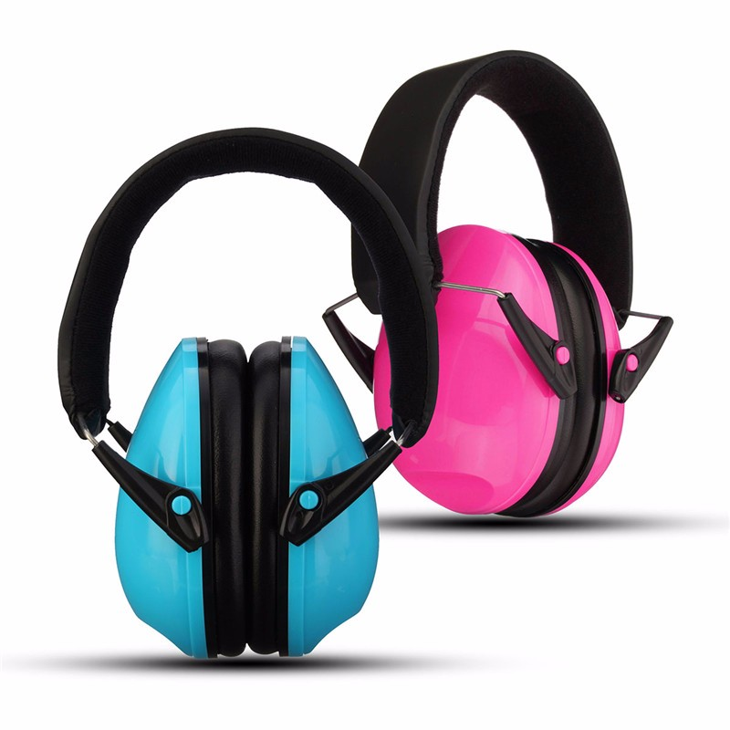 Comfortable Ear Protector for Children Anti-noise Hearing Protection Earmuffs Headset Soundproof Ear muff Blue Pink soundproof earplugs 3m soft foam earmuffs anti noise earplug ear protector hearing protection peltor ear plugs for sleep