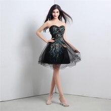 5ee2bdeb7 Vestido largo vestido De noche negro Formal Pavo Real vestidos De noche  elegantes trajes traje De fiesta boda vestido De baile D..