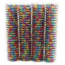 Lotes 100 peças feminino meninas tamanho 5.5 cm colorido faixas de cabelo elástico borracha telefone fio laços de plástico corda goma primavera