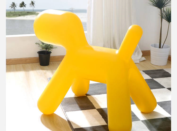 Super Big Size For Adult Modern Design Fashion Popular Loft Plastic Dog Chair  Puppy Chair Plastic Toy Play Chair Super Big Size In Children Chairs From  ...