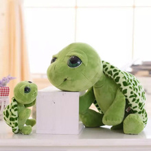 ФОТО 23/30/36cm tortoise plush toy , cute big eyes dolls for children toy , high quality pp cotton brinquedos kids gift
