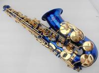 2018 Henri Selmer 54 Alto Saxophone Brand France Sax Eb Flat Professional Blue Alto Sax Musical