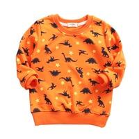 Baby Boys T Shirt Children Clothing 2017 Brand Clothes Boys Long Sleeve Tops Animal Kids T
