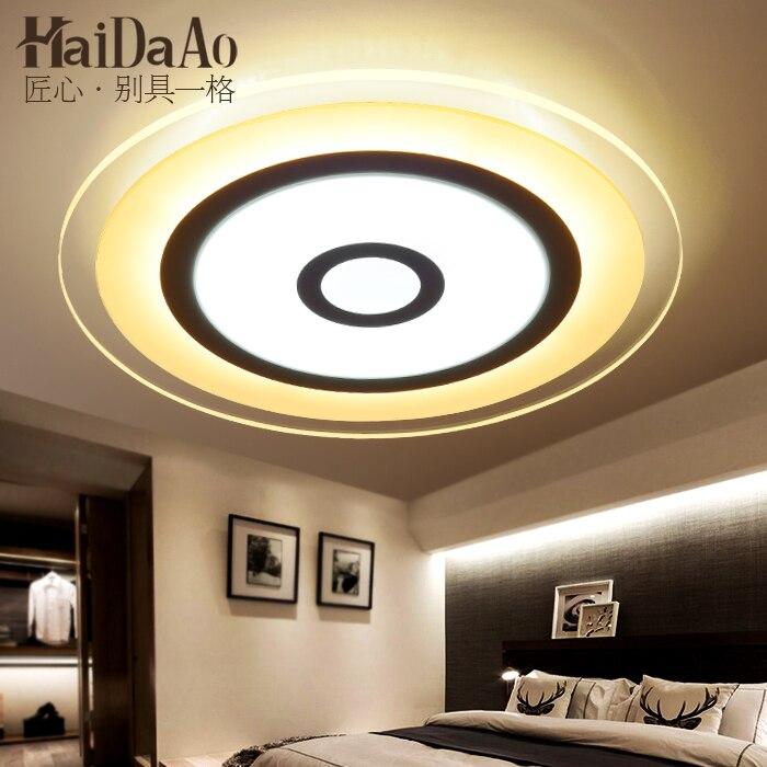 US $85.75 40% OFF Kreisförmige led saug lichtkuppel einfache moderne  schlafzimmer lampe warme wohnzimmer beleuchtung lampe fernbedienung  licht-in ...