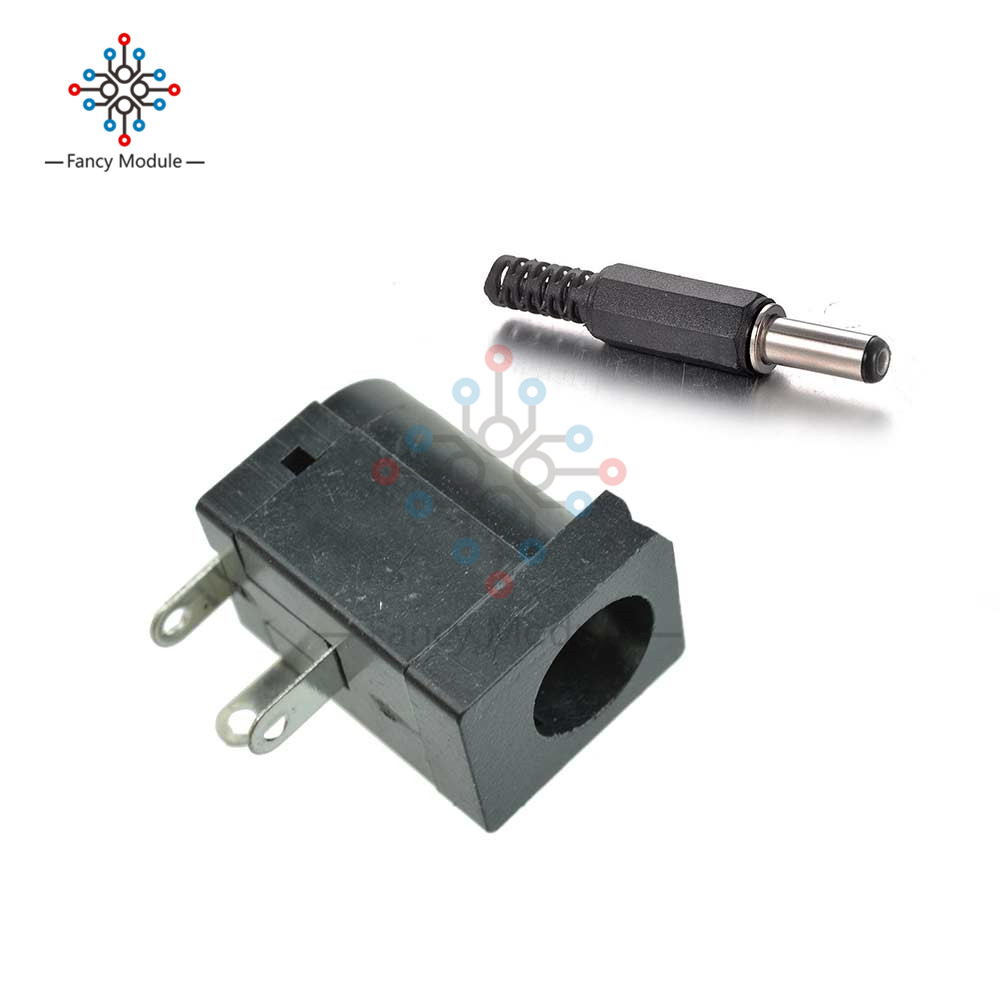 5 Pair DC 30V 0.5A 2.1 x 5.5mm DC Power Jack Female Socket Connector 5.5 * 2.1mm Male Plug Connector Adapter5 Pair DC 30V 0.5A 2.1 x 5.5mm DC Power Jack Female Socket Connector 5.5 * 2.1mm Male Plug Connector Adapter