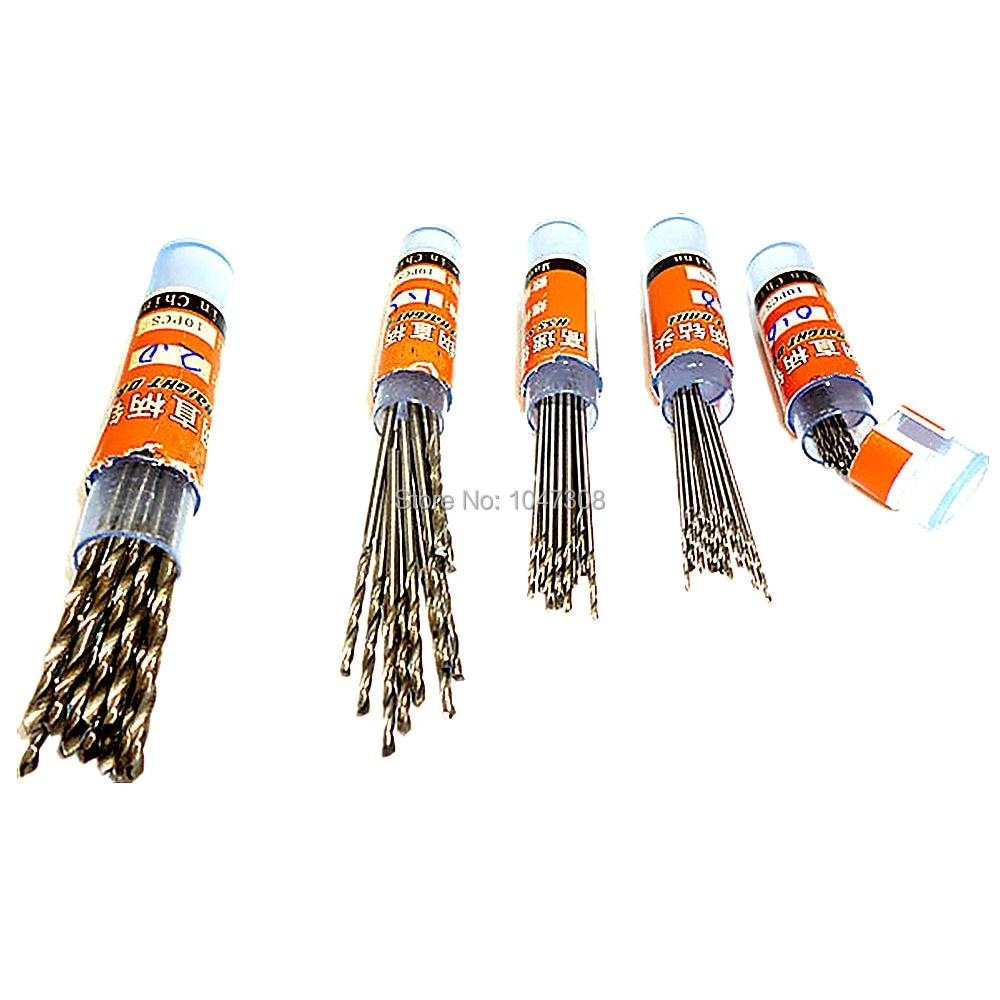 50pcs Hss Drill Bits Metal Twist Drill Bit Steel Wood Thin