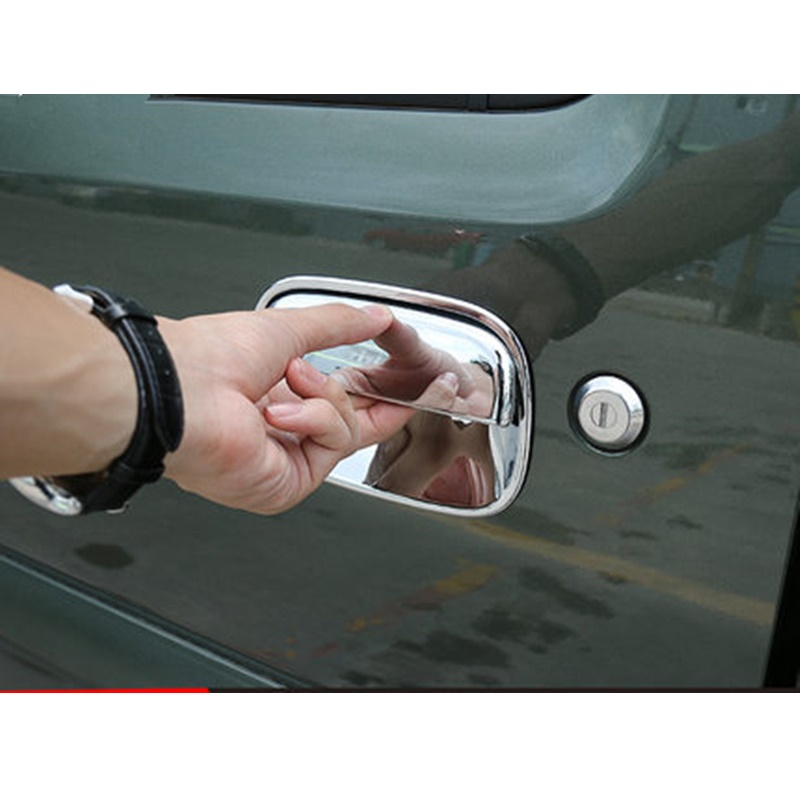 ABS Door Handle Cover Car Stickers Suitable for Suzuki Jimny Car Styling Accessories nitro triple chrome plated abs mirror 4 door handle cover combo