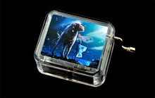 Cartoon 12 Constellations Hand-Operated Type Mini Leo Music Box Home Decoration Musical Box for kids girls Party Gift