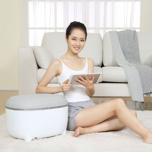Image 3 - Youpin Momoda ขนาดเล็กสตูลเท้าอุ่นสตูล Massager 2 In 1 สามขั้นตอนเท้านวดหมอนร้อน  การบีบอัดอุ่นฟุต
