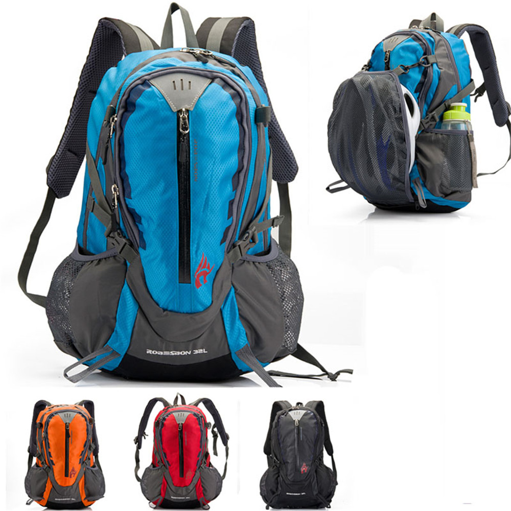 ФОТО Unisex 4 Color 32L riding bag bike bag shoulder riding backpack breathable men and women mountain car bag sports backpack
