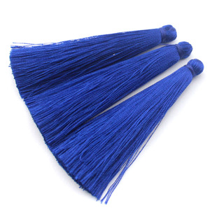 Image 5 - TEVIDA Borlas de seda para fabricación de joyas, collar, pendientes, prendas, cortinas, sombreros, 50 Uds., venta al por mayor