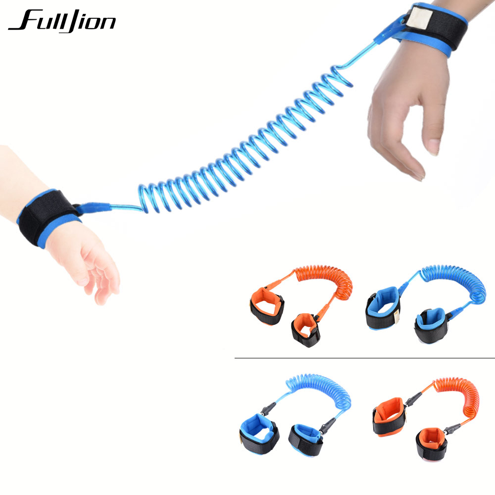 Child Wrist Leash Baby Safety Walking Harness Anti Lost Adjustable Traction Rope Reminder Toddler Wristband Walk Assistant belt yourhope baby toddler harness safety learning walking assistant blue