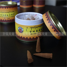 Tibet Nyemo County handmade incense cone,special grade, no chemical pollution,Natural buddhist meditation healing incense