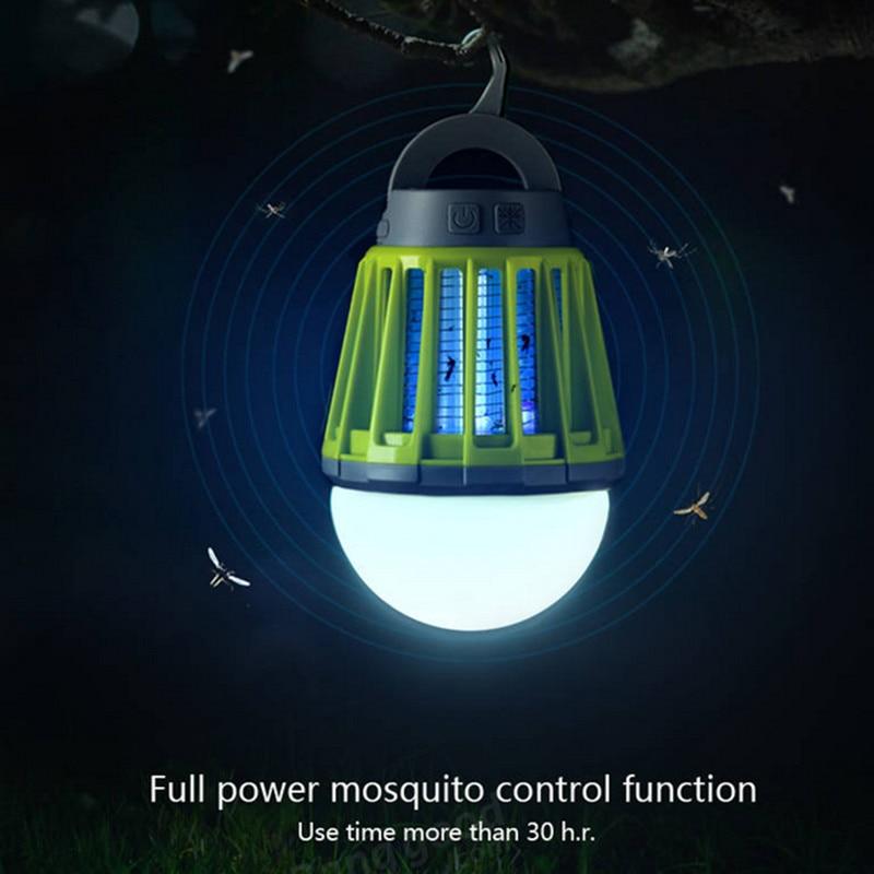 Сад Открытый зарядка через USB LED москитная убийца лампы Водонепроницаемый альпинистов Отпугиватель комаров сад Борьба с вредителями Инструменты поставки