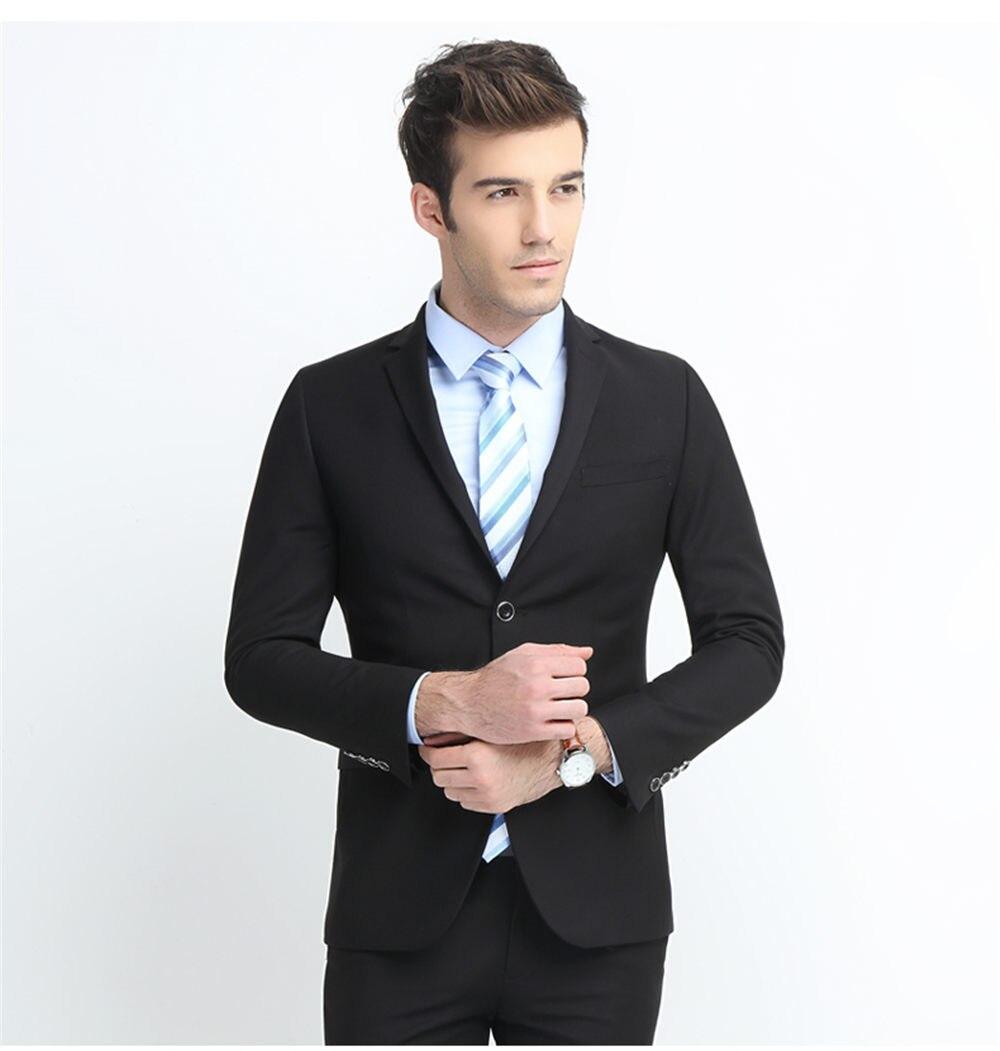 D'affaires Pieces Formelle three Slim De As 2018 Fit Élégant Picture Blazer Normale Blac Mariage Hommes P veste Marié Costumes Costume x0qHU8w