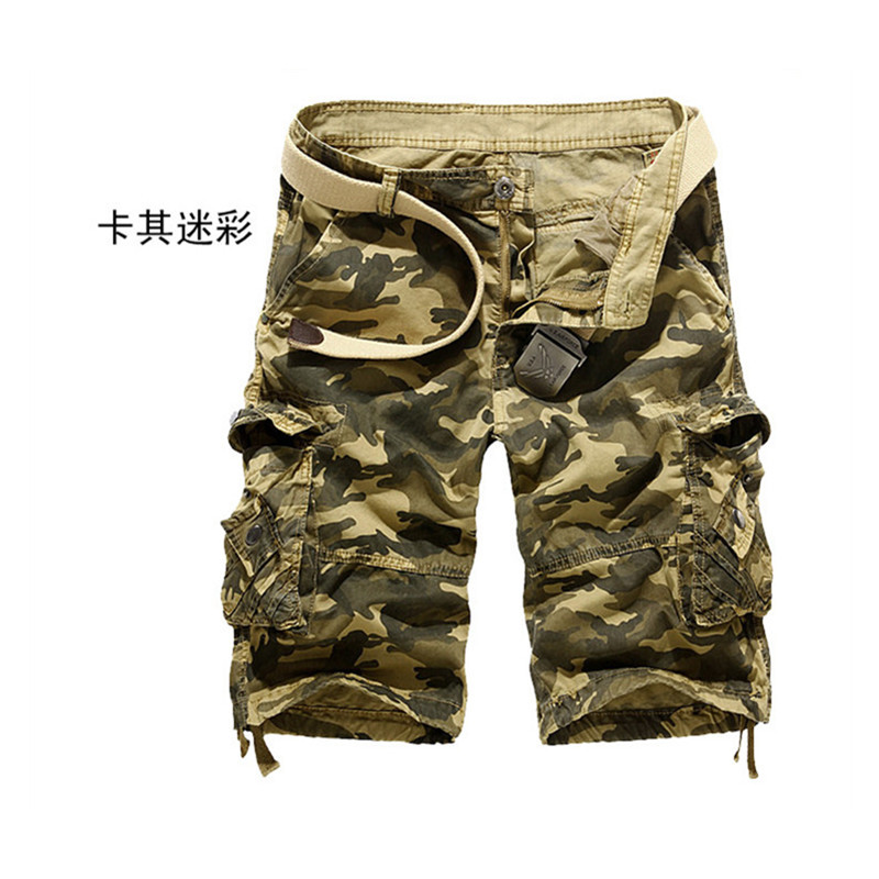 Army Green Military Men s Clothing Big Size 29 38 New Fashion Casual Mens Shorts Brand