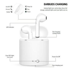 Image 3 - Bluetooth Wireless Earphones i7s TWS Bluetooth Wireless Earphones Mic Sports Stereo Earbuds With Charging Box
