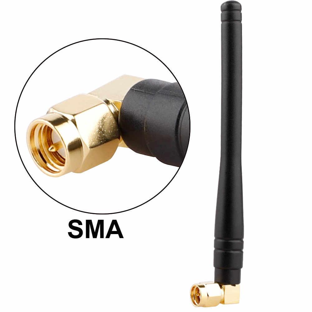 1 Máy Tính 4G 3G 2.4GHz Ăng Ten 7dBi SMA TS9 Nam Trên Không Vịt Cao Su Tăng Cường Tín Hiệu