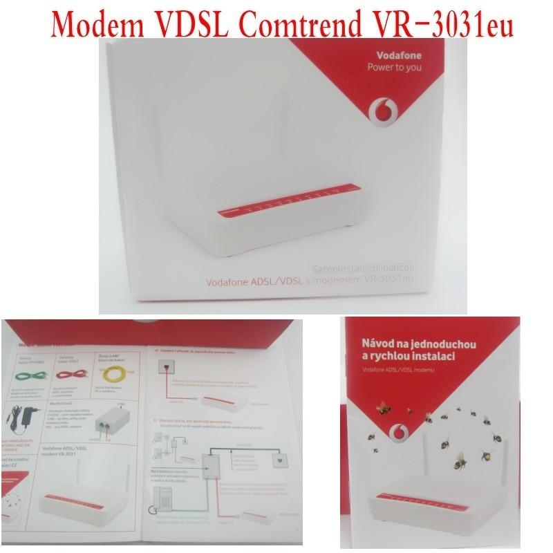 Comtrend VR-3031U Wireless Router ADSL2+/VDSL2 802.11N 4 Port, brand New
