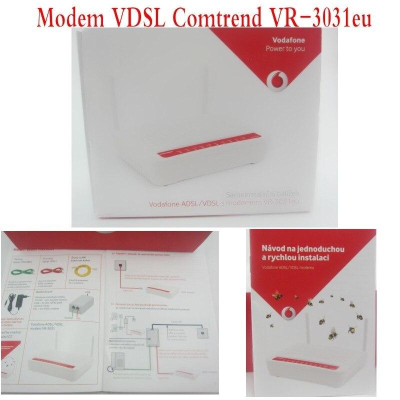 Comtrend VR-3031U routeur sans fil ADSL2 +/VDSL2 802.11N 4 ports, tout neuf
